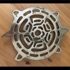 Other - Trivet, used, fair/poor condition, gold color.